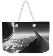 Jet Pop Art Plane Black And White  Weekender Tote Bag