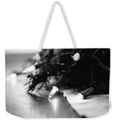 Black And White Lights Weekender Tote Bag