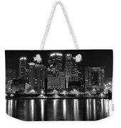 Black And White Night In Pa Weekender Tote Bag