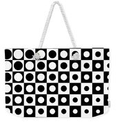 Black And White, No. 1 Weekender Tote Bag