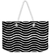 Black And White Postage Weekender Tote Bag