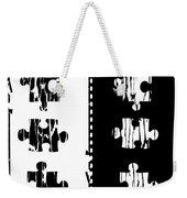 Black And White Puzzles Digital Painting Weekender Tote Bag