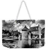 Scotney Castle In Mono Weekender Tote Bag