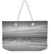 Black And White Seascape Weekender Tote Bag