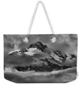 Black And White Tantalus Storms Weekender Tote Bag