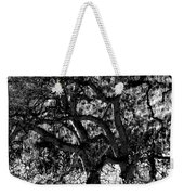 Black And White Trees Weekender Tote Bag
