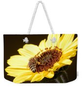 Black And Yellow Bee Beauty Weekender Tote Bag