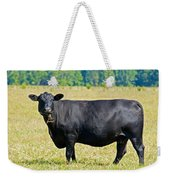Black Angus Cattle Weekender Tote Bag