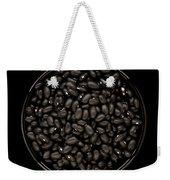 Black Beans In Bowl Weekender Tote Bag