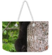 Black Bear Cub Weekender Tote Bag
