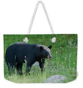 Black Bear Female Weekender Tote Bag