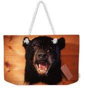 Black Bear Head Weekender Tote Bag