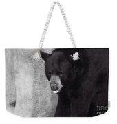 Black Bear Pose Weekender Tote Bag