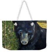 Bear Painting - Scruffy - Profile Cropped Weekender Tote Bag
