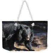 Black Bear Weekender Tote Bag
