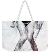 Black Bikini Weekender Tote Bag