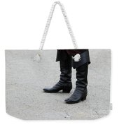 Black Boots Weekender Tote Bag