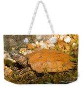 Black Breasted Leaf Turtle Weekender Tote Bag