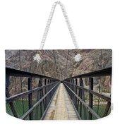 Black Bridge Weekender Tote Bag