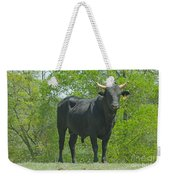 Black Bull Weekender Tote Bag