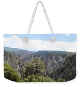 Black Canyon Of The Gunnison Panorama Weekender Tote Bag