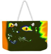 Black Cat 3 Weekender Tote Bag
