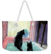Black Cats Weekender Tote Bag