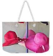 Black Chapeau Of The Family Weekender Tote Bag