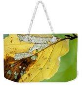 Black Cherry Leaf Weekender Tote Bag