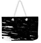 Black Cinders In Winter Weekender Tote Bag