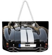 Black Cn Cobra Classic Car Weekender Tote Bag