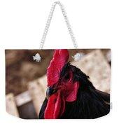 Black Cochin Rooster Weekender Tote Bag