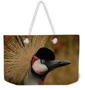 Black Crowned Crane Weekender Tote Bag