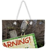 Black-crowned Night Heron Weekender Tote Bag