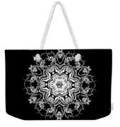 Black Diamond Princess Pendant Weekender Tote Bag