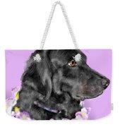 Black Dog Pretty In Lavender Weekender Tote Bag