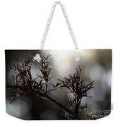 Black Edlerberry Bush Weekender Tote Bag