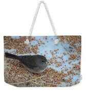 Black Eyed Junco Weekender Tote Bag