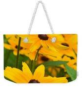 Black Eyed Susan - Flower Weekender Tote Bag