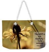 Black-eyed Susan  Psalm Weekender Tote Bag