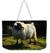 Black Faced Mountain Sheep Weekender Tote Bag