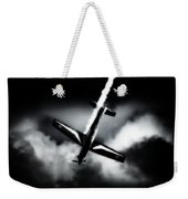 Black Falcon Weekender Tote Bag