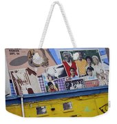 Black Family Reunion Mural Weekender Tote Bag