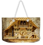 Black Forest Figurine Clock Weekender Tote Bag