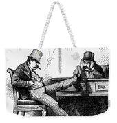 Black Friday Cartoon, 1873 Weekender Tote Bag