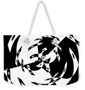 Black Gravity Weekender Tote Bag
