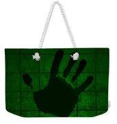 Black Hand Green Weekender Tote Bag