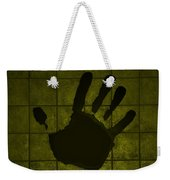 Black Hand Yellow Weekender Tote Bag