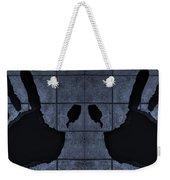 Black Hands Cyan Weekender Tote Bag