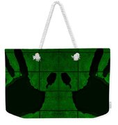 Black Hands Green Weekender Tote Bag